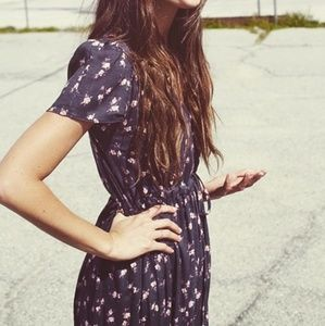 NameAnyPrice! ISO Christy Dawn Gray Floral Dress